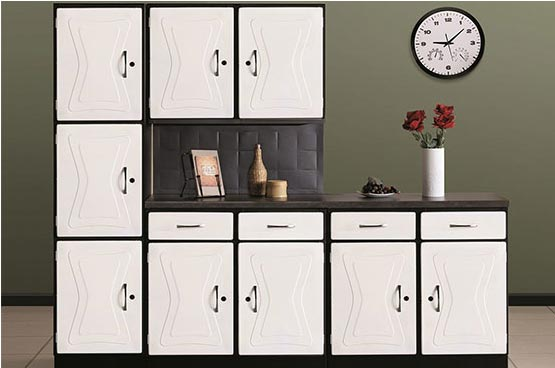 Fine kitchen cabinets za steel cabinet to decor with for Kitchen units for sale in harare